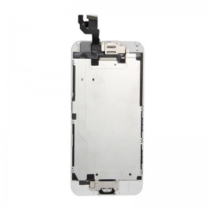iPhone 6 Replacement LCD Screen and Digitizer Fully Assembled with Frame-White