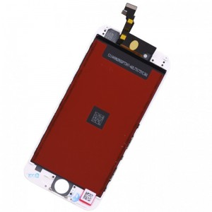 iPhone 6 Replacement LCD Screen and Digitizer Assembled with Frame-White