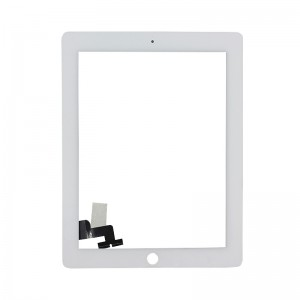 Apple iPad 2 Digitizer Touch Panel Frame  White