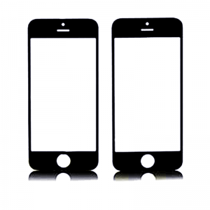 Replacement  Glass Cover for iPhone 5C with Frame Black