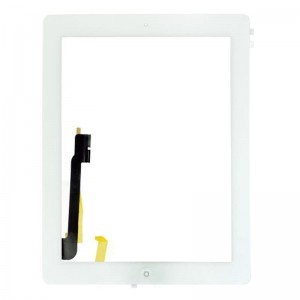 Replacement for Apple iPad 4 Digitizer Touch Panel Frame  White