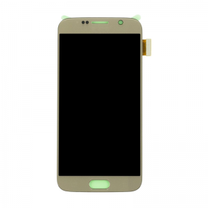 Replacement LCD Screen  for  Galaxy S6 Gold Platinum