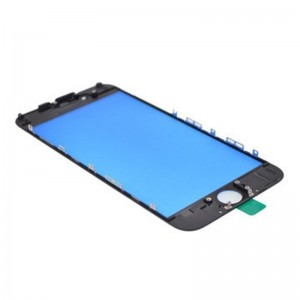 Replacement Cover Glass for iPhone 6 Plus with Frame Black
