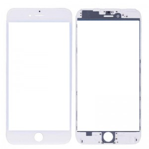 iPhone 6S Replacement Cover Glass with Frame-White