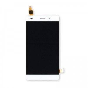 Replacement LCD Screen and Digitizer for HUAWEI P8 Assembly with Frame White