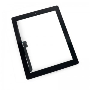 Apple iPad 4 Digitizer Touch Panel Frame Black