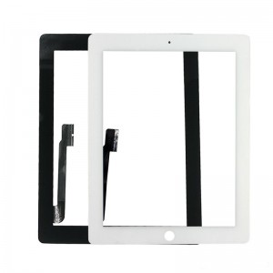 Apple iPad 3 Digitizer Touch Panel Frame White