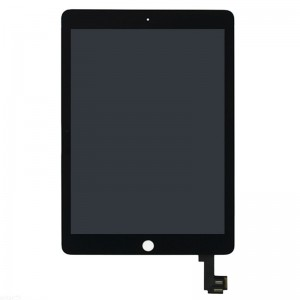 Replacement LCD Screen and Digitizer for iPad Air 2(iPad 6) Assembly with Frame Black