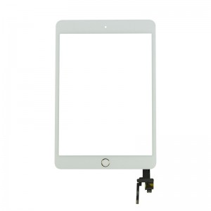 Replacement Touch Panel for iPad Mini 3 with frame White