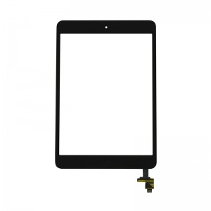 Replacement Touch Panel for iPad Mini/Mini 2 with frame Black