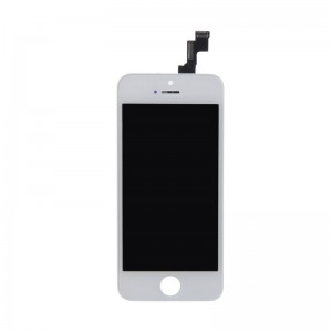 iPhone 5 Replacement LCD Screen and Digitizer Assembled with Frame,Front Camera,Earpiece Speaker,Home Button-White