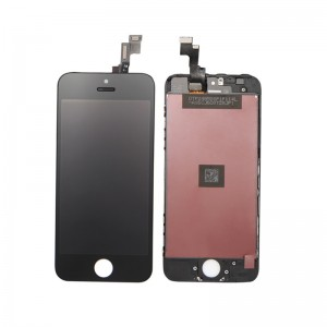 iPhone 5S Replacement LCD Screen and Digitizer Assembled with Frame-Black