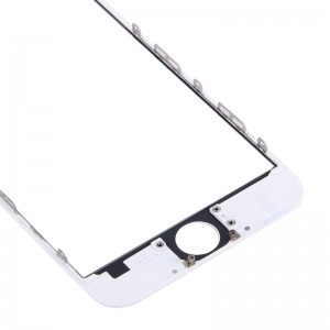 iPhone 6 Cover Glass with Frame-White