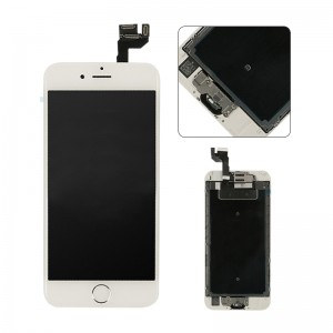 Replacement LCD Screen and Digitizer for iPhone 6S Plus Assembly with Frame+ small parts White