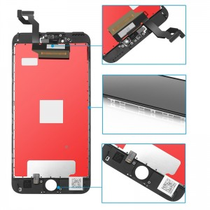 Replacement LCD Screen and Digitizer for iPhone 6S Plus Assembly with Frame  Black