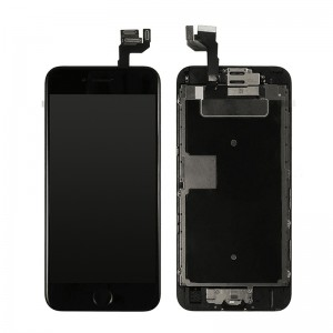 Replacement LCD Screen and Digitizer for iPhone 6S Plus Assembly with Frame+ small parts Black
