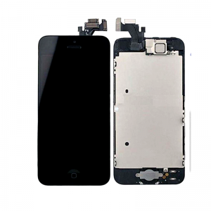 iPhone 7 Replacement LCD Screen and Digitizer Assembled with Frame,Front Camera,Earpiece Speaker-Black