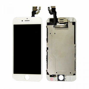 iPhone 7 Replacement LCD Screen and Digitizer Assembled with Frame,Front Camera,Earpiece Speaker-White