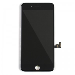 Replacement LCD Screen and Digitizer for iPhone 8 Plus Assembly with Frame  Black