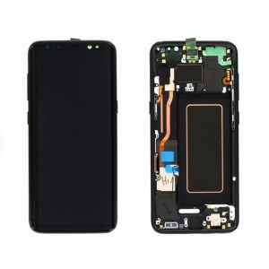 Replacement LCD Screen and Digitizer for Samsung Galaxy S8 Assembly Black
