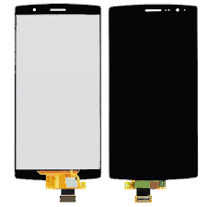 Replacemen LCD Screen and Digitizer for LG G4 Assembly with Frame  White
