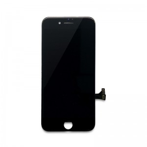 Replacement LCD Screen and Digitizer for iPhone 8 Plus Assembly with Frame+ small parts Black