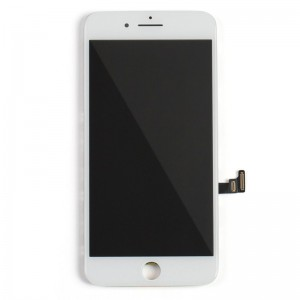 Replacement LCD Screen and Digitizer for iPhone 8 Plus Assembly with Frame  white