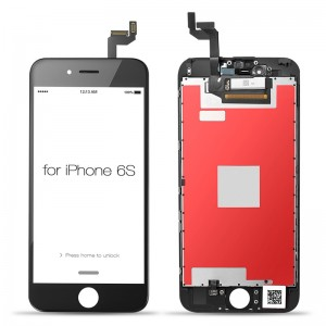 iPhone 6S Replacement LCD Screen and Digitizer Assembled with Frame-Black