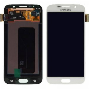 Replacement LCD Screen  for  Galaxy S6 White Pearl
