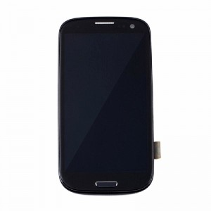 Replacement LCD Screen and Digitizer for Samsung Galaxy S3 Assembly with Frame Black