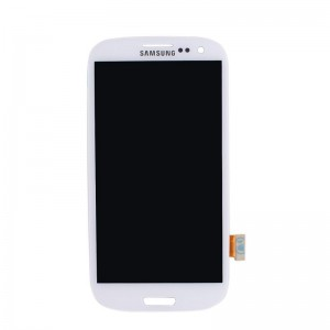Replacement LCD Screen and Digitizer for Samsung Galaxy S3 Assembly with Frame White