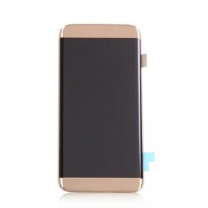 Replacement LCD Screen and Digitizer for Samsung Galaxy S7 Edge Assembly Golden