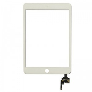 Replacement Touch Panel for iPad Mini/Mini 2 with frame White